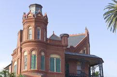 Historic Queen Anne Victorian in Galveston, Texas Stock Photo