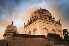 Historic Qutb Shahi tombs Royalty Free Stock Photos
