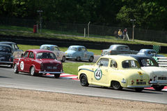 Historic Race Cars Royalty Free Stock Images