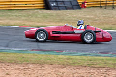 Historic racing car Royalty Free Stock Photo
