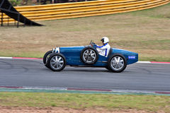 Historic racing car Royalty Free Stock Image
