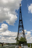 Historic radiostation tower in Gliwice, Poland Royalty Free Stock Photography