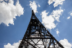 Historic radiostation tower in Gliwice, Poland Stock Photography