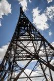 Historic radiostation tower in Gliwice, Poland Royalty Free Stock Photos