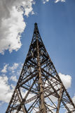 Historic radiostation tower in Gliwice, Poland Royalty Free Stock Photo