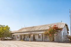 Historic railway station in Mariental, now a business centre Royalty Free Stock Image
