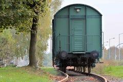 Historic railway wagon Royalty Free Stock Photos