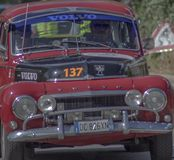 Historic rally in Sicily stock image