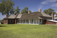 Historic ranch house Stock Photo