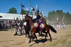 Historic reconstruction Royalty Free Stock Images