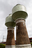 Historic Renovated Water Tank. These water tanks date from 1890 and provided steam trains with water. Their altitude is 23 meters and they are completely Royalty Free Stock Images