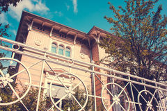 Historic Residential House Royalty Free Stock Photography