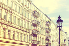 Historic Residential House in Berlin Royalty Free Stock Photography