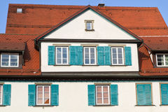 Historic residential house, Germany Royalty Free Stock Photo