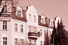 Historic Residential Houses in Berlin Royalty Free Stock Image