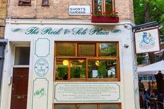 Historic restaurant in Covent Garden, London, UK Stock Image