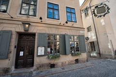 Historic Restaurant for Nobel diners Royalty Free Stock Images
