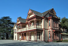 Historic Riccarton House, Christchurch, New Zealand Stock Images