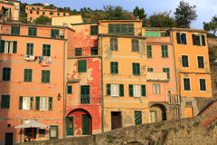 Historic Riomaggiore in Cinque Terre National Park, Italy Stock Photos