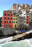 Historic Riomaggiore in Cinque Terre National Park, Italy Royalty Free Stock Photo