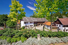 Historic rive mills of Rastoke village Stock Photos