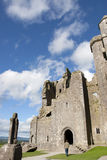 Historic rock of Cashel church Royalty Free Stock Photography