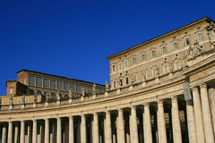 Historic Roman building Stock Image