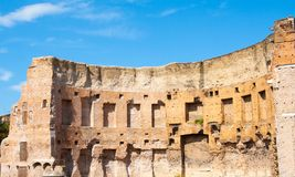Free Historic Roman Ruins In Red Brick In Rome Royalty Free Stock Image - 124500086