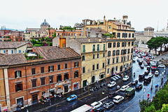Historic Rome view Italy Royalty Free Stock Photography
