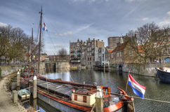 Historic Rotterdam Royalty Free Stock Photos