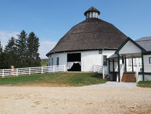Historic Round Barn and Farm Market in Gettysburg, PA Royalty Free Stock Images