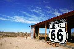 Historic rout 66 site Stock Image