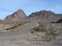 Historic Route 66. Outside Oatman, Arizona stock photos