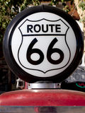 Historic Route 66 Gas Light Stock Photo