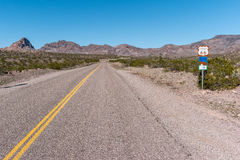 Historic Route 66 in Arizona Royalty Free Stock Photography