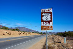Historic Route 6 Highway Royalty Free Stock Photo