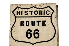 Historic Route 66 Shield Royalty Free Stock Image