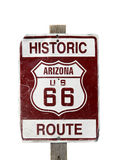 Historic Route 66 sign Stock Photos