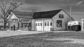 Historic Route 66 Standard Oil Gas Station. In Odell, Illinois Royalty Free Stock Photography