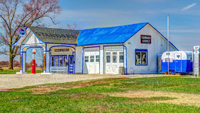 Historic Route 66 Standard Oil Gas Station. In Odell, Illinois Stock Images