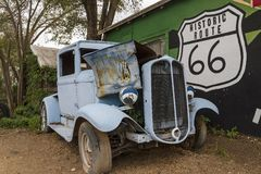 Historic Route 66 Stock Image