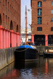 Historic Royal Albert Dock Stock Photo