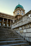 Historic Royal Palace in Budapest Royalty Free Stock Image