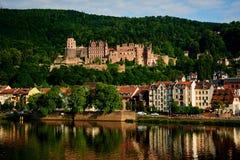 historic castle Heidelberg Royalty Free Stock Photos