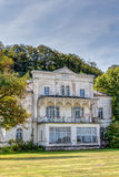 Historic ruin house. In classicist architecture style in spa town Heiligendamm, Germany Royalty Free Stock Images
