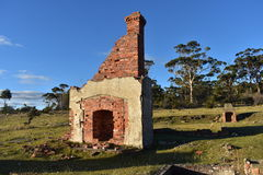 A Historic Ruin. The old hotel on Maria Island Stock Image