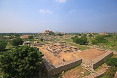 Historic Ruins of an ancient empire in India Royalty Free Stock Photos