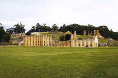 The historic ruins of Port Arthur in Tasmania Stock Photo
