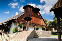 Historic rural wooden house Royalty Free Stock Photos