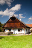 Historic rural wooden house Stock Photo